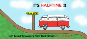 "Kickstarter Project: ""We are half way there!"""