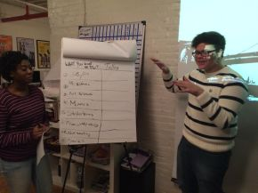 "Event Recap: JAB's ""Teen Voices at Reel Works"""